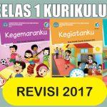 Buku Tema Kelas 1 SD Kurikulum 2013 Revisi 2017 Gratis