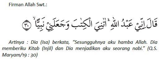 Maryam ayat 30