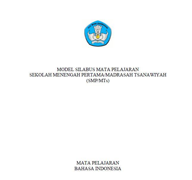 silabus indonesia smp kurikulum 2013 revisi 2017