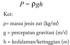 rumus hidrostatis