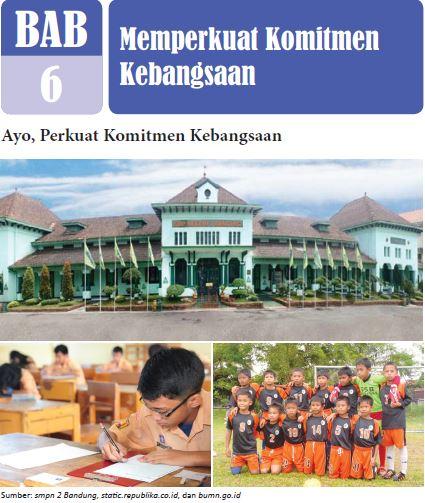 Rangkuman Materi PPKN Kelas 8 Bab 6