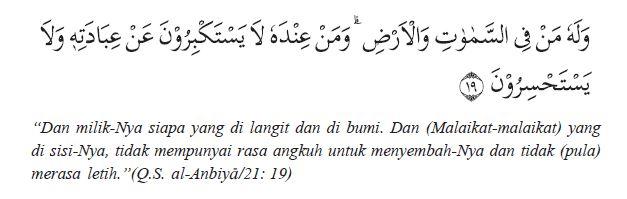 Surat Al-Anbiya Ayat 19