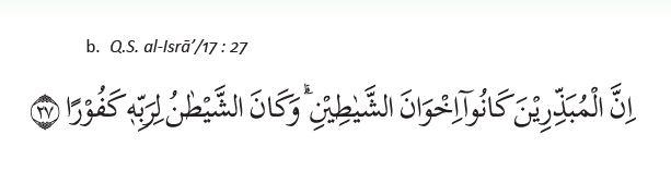 Al-Isra ayat 27
