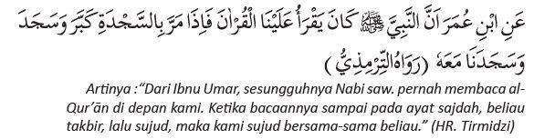 hadis sujud tilawah