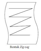 Teknik bentuk zig-zag