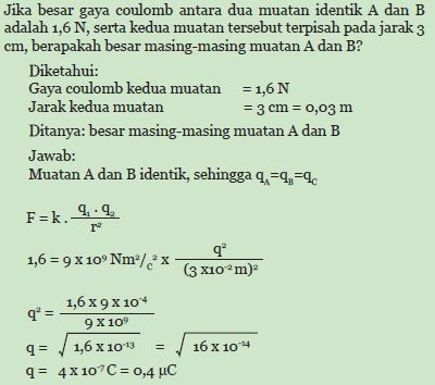 Contoh soal Couloumb