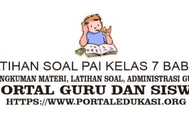 Latihan Soal PAI Kelas 7 Bab 13