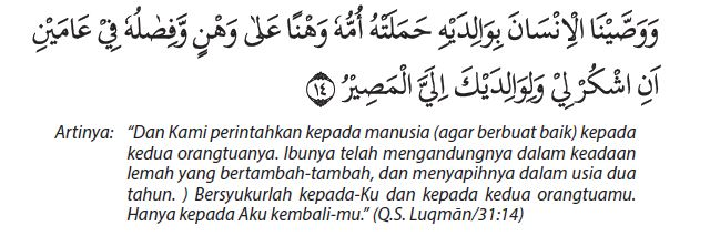 Luqman ayat 14 beserta artinya