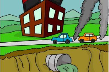 Rangkuman Materi PLH Kelas 10 Polusi