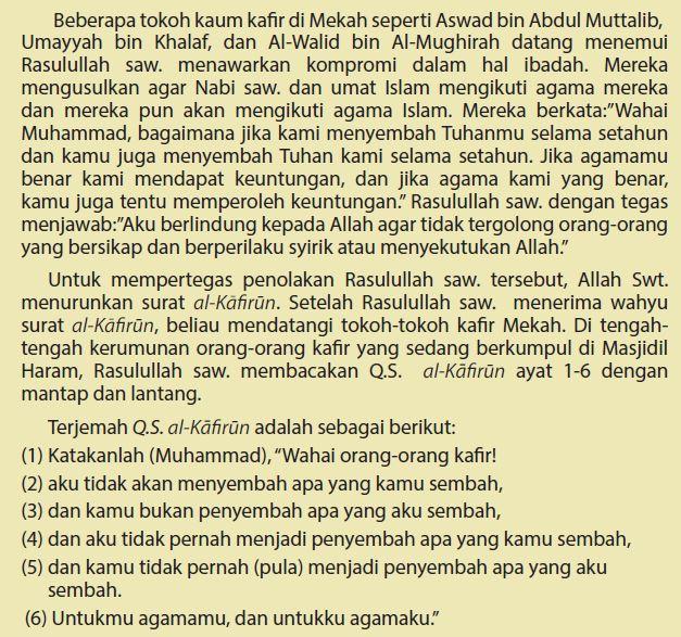 toleransi non muslim jaman Rasulullah