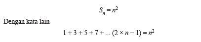 Matematika Kelas 8 Pola Bilangan