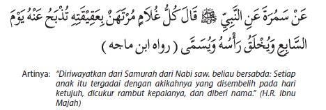 Sabda Rasul tentang akikah