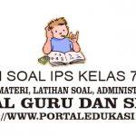 Latihan Soal IPS Kelas 7 Bab 1