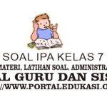 Latihan Soal IPA Kelas 7 Bab 8
