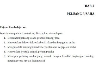 rangkuman materi pkk kelas 11 bab 2