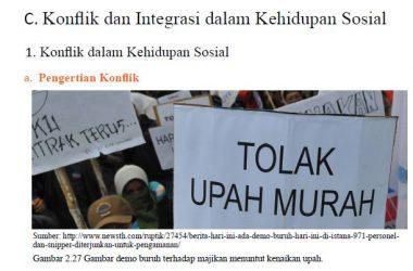 konflik dan integrasi dalam kehidupan sosial