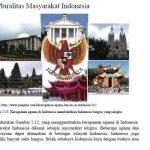 Pluralitas Masyarakat Indonesia