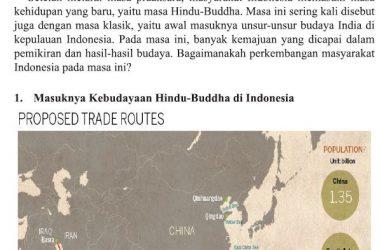 kehidupan masyarakat pada masa hindu buddha