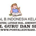 Latihan Soal INDONESIA Kelas 8 Bab 1