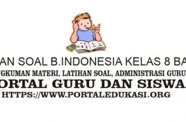 latihan soal indonesia kelas 8 bab 2