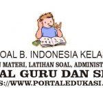 Latihan Soal INDONESIA Kelas 8 Bab 4