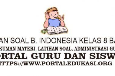 latihan soal indonesia kelas 8 bab 5