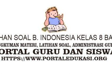 latihan soal indonesia kelas 8 bab 6