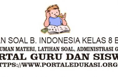 latihan soal indonesia kelas 8 bab 7