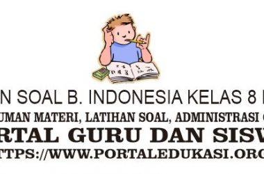 latihan soal indonesia kelas 8 bab 9