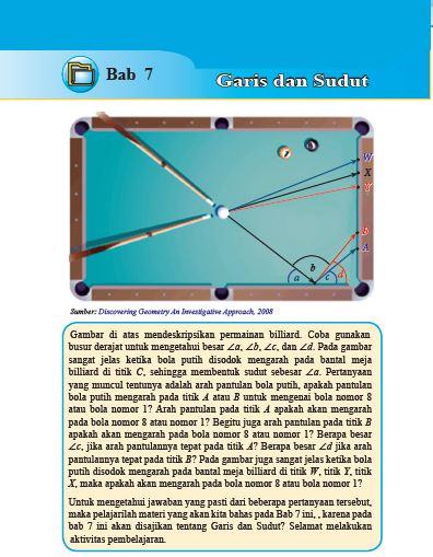 matematika kelas 7 garis dan sudut