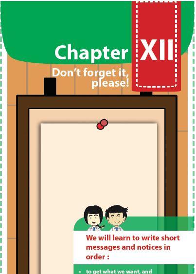 Materi Bahasa Inggris Kelas 8 Bab 12