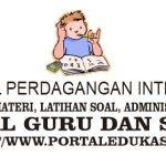 Latihan Soal Perdagangan Internasional