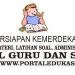 Latihan Soal Persiapan Kemerdekaan Indonesia