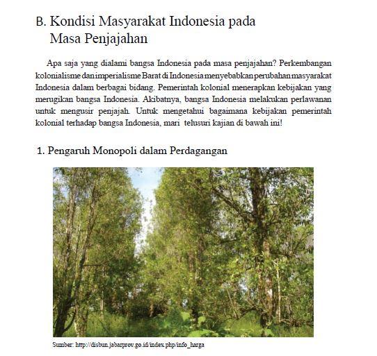 kondisi masyarakat indonesia pada masa penjajahan