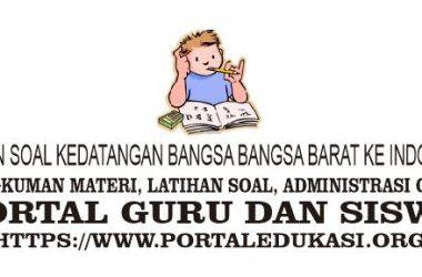 latihan soal kedatangan bangsa-bangsa barat ke Indonesia