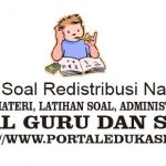 Latihan Soal Redistribusi Pendapatan Nasional