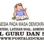 Latihan Soal Indonesia pada Masa Demokrasi Parlementer