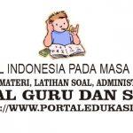 Latihan Soal Indonesia pada Masa Reformasi