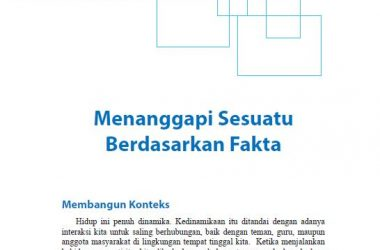 Materi Bahasa Indonesia Kelas 9 Bab 2
