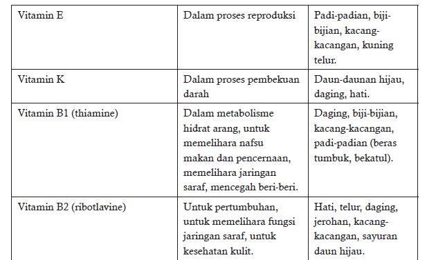 Materi PJOK Kelas 7 Pola Makan Sehat