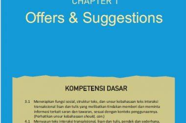 materi bahasa inggris kelas 11 bab 1