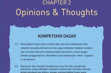 materi bahasa inggris kelas 11 bab 2